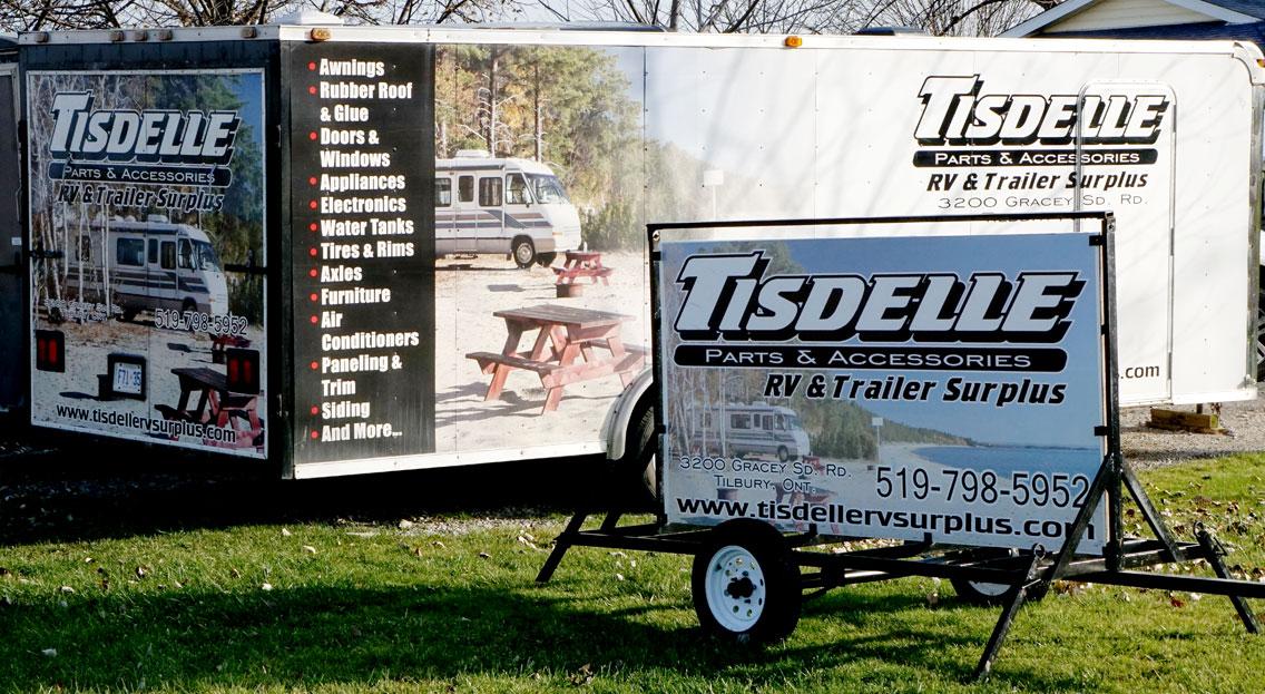 Used RV Parts – Tisdelle RV Surplus